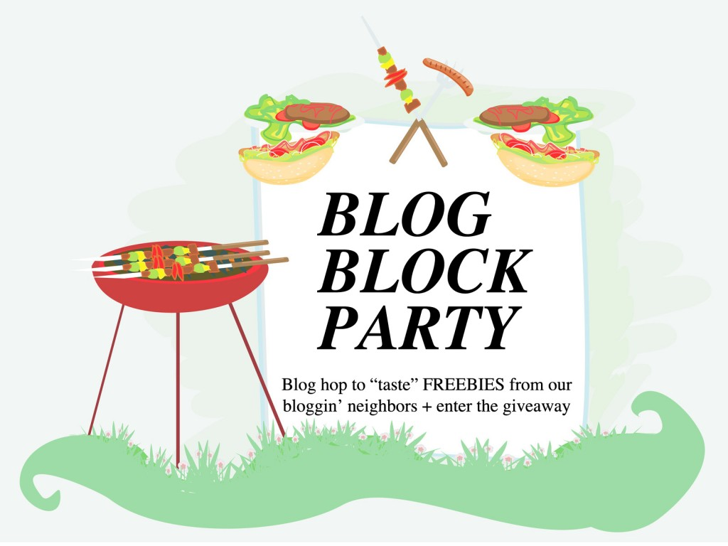 Block Party Invitation Blog block party & giveaway!
