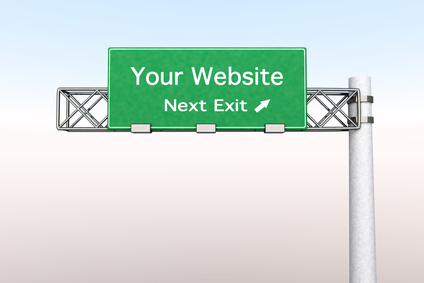 Highway Sign - Your Website